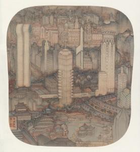 Reconstructing Shanghai-color 申城新瑞图-设色